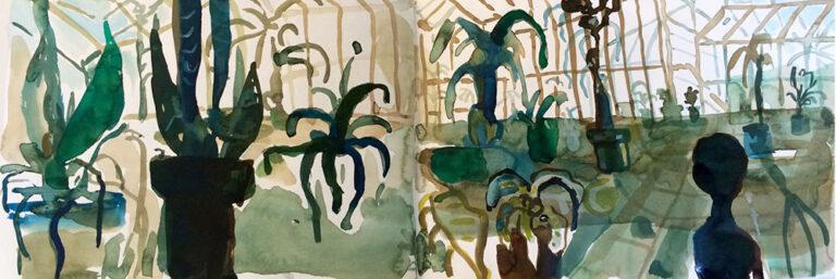 Elly-Hees-Botanische-tuin-0-pigmentinkt-2016