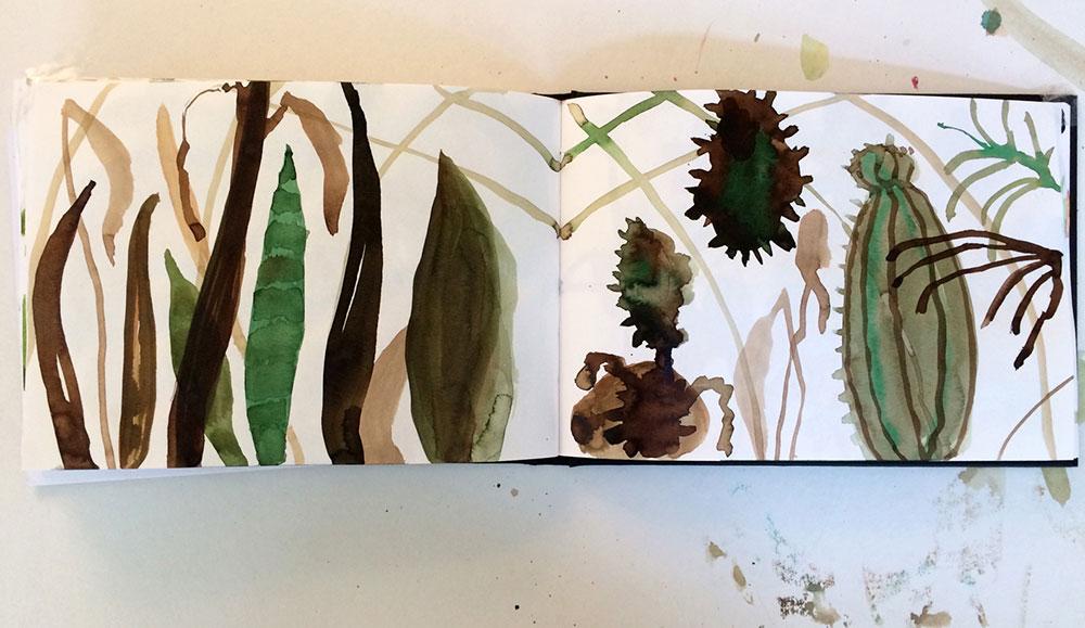 Elly-Hees-Botanische-tuin-1-pigmentinkt-2016