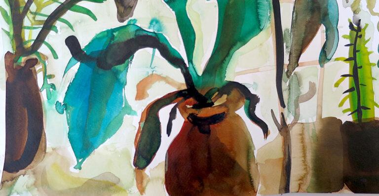 Elly-Hees-Botanische-tuin-3-pigmentinkt-2016