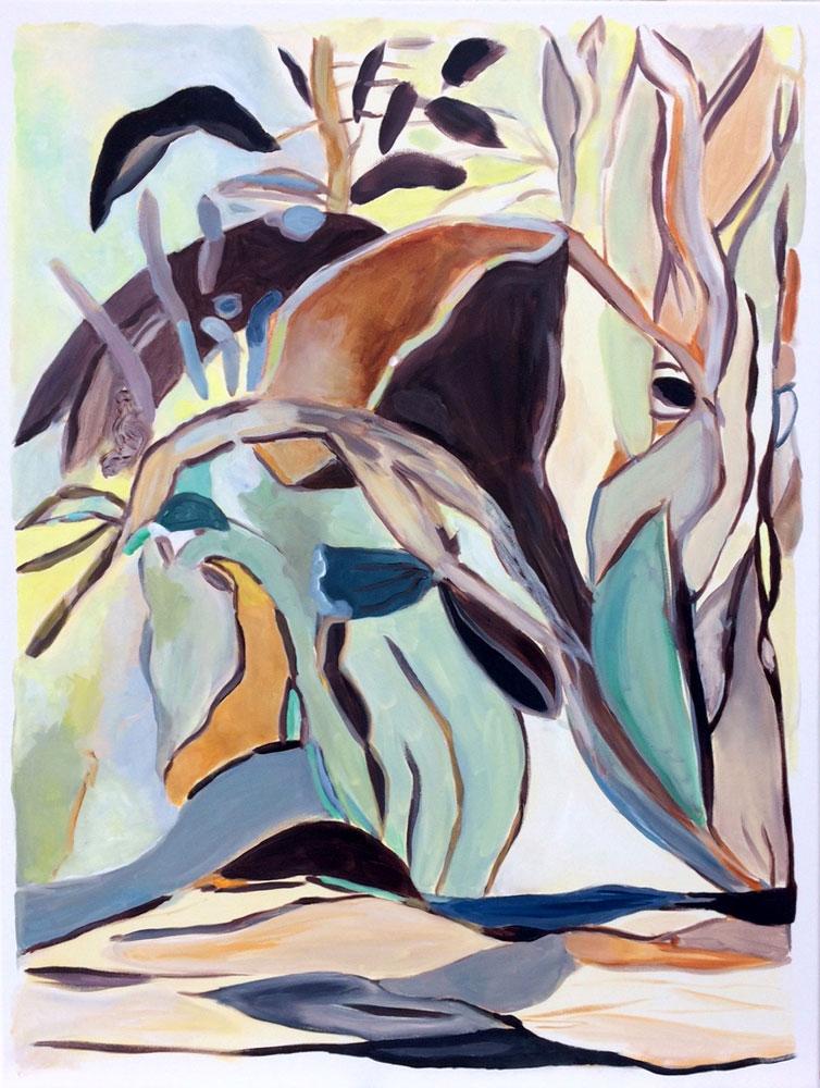 Elly-Hees-Van-Dijck-Brown-olieverf-op-canvas-70x90-2019