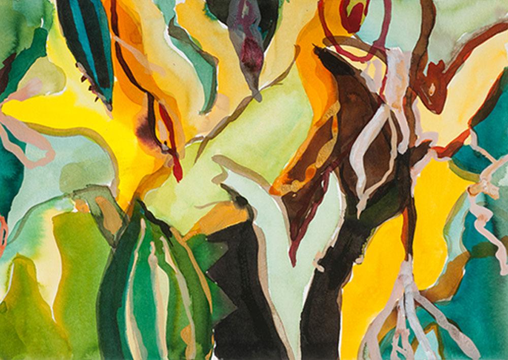 Elly-Hees-Wald-II-pigmentinkt-op-papier-30x40-2017