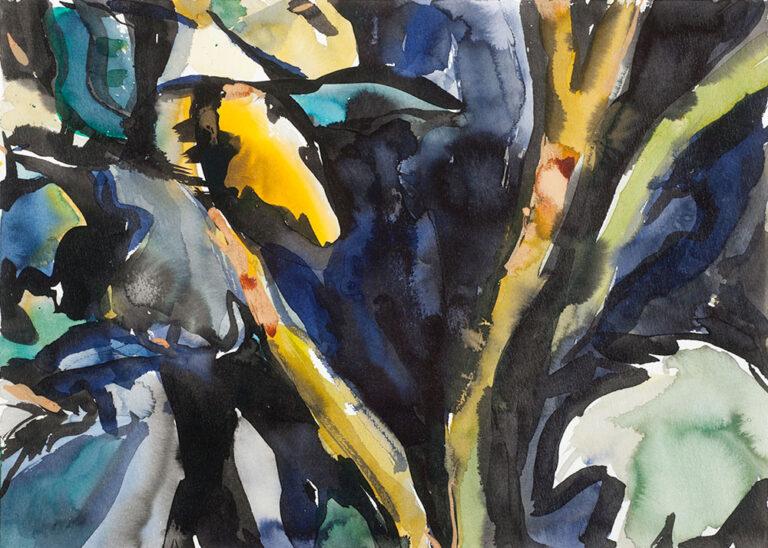 Elly-Hees-Wald-III-pigmentinkt-op-papier-30x40-2017