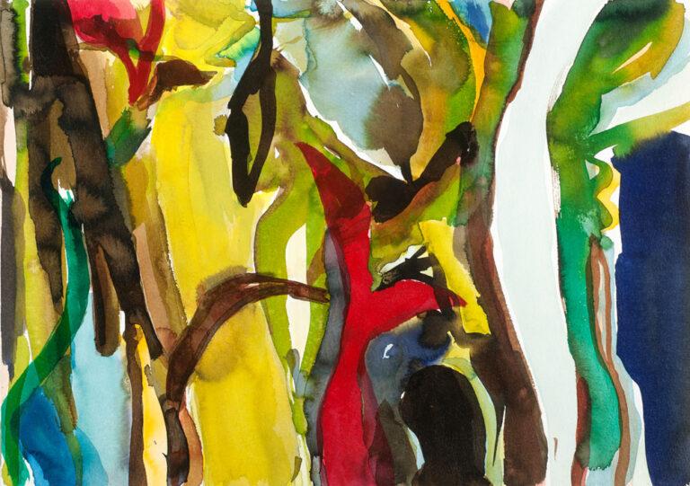 Elly-Hees-Wald-IV-pigmentinkt-op-papier-30x40-2017