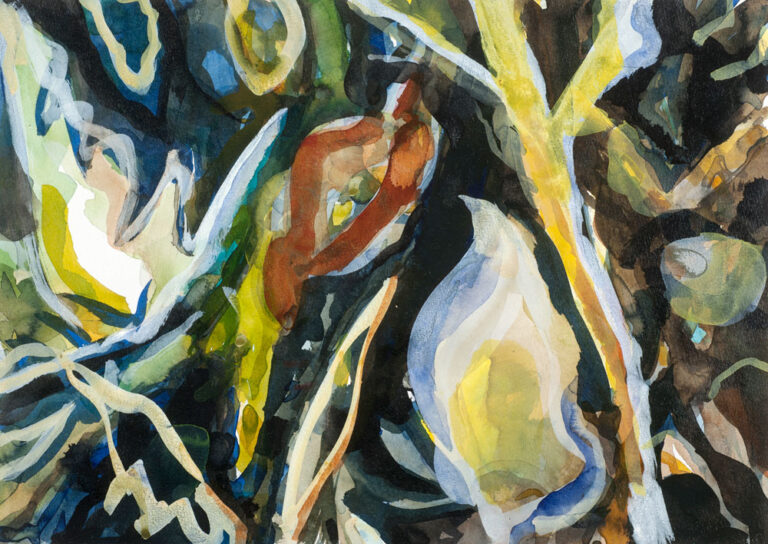 Elly-Hees-Wald-VI-pigmentinkt-op-papier-30x40-2017