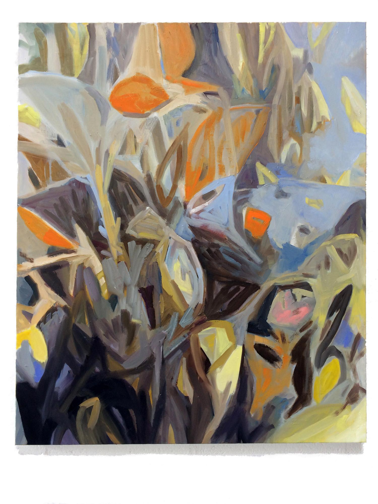 GROW, olieverf op canvas 100 x 120 cm 2021